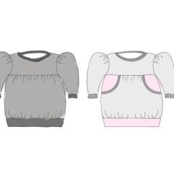 Belinda-Dress-Pattern-line-drawing
