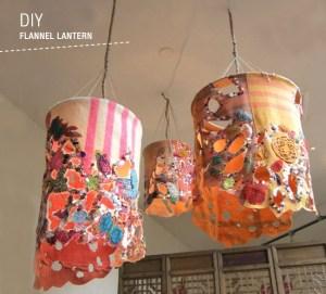 DIY-flannel-lantern