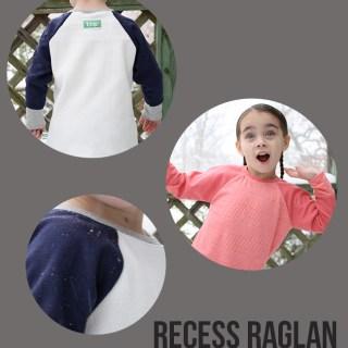 Sew & Tell: Recess Raglan