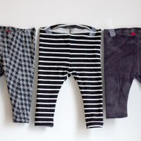 Free baby leggings pattern & tutorial