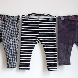 Free baby leggings pattern & tutorial