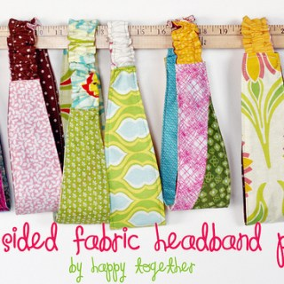 Double Sided Headband Tutorial