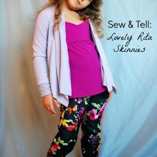Sew & Tell: Lovely Rita Skinnies