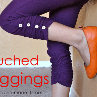 Ruched Legging Tutorial