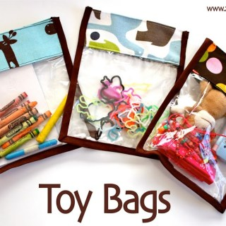 Toy Bag Tutorial