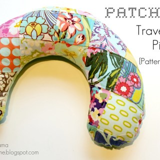 Travel Neck Pillow Tutorial