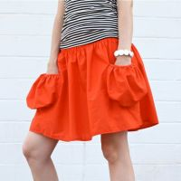 deep pocket skirt