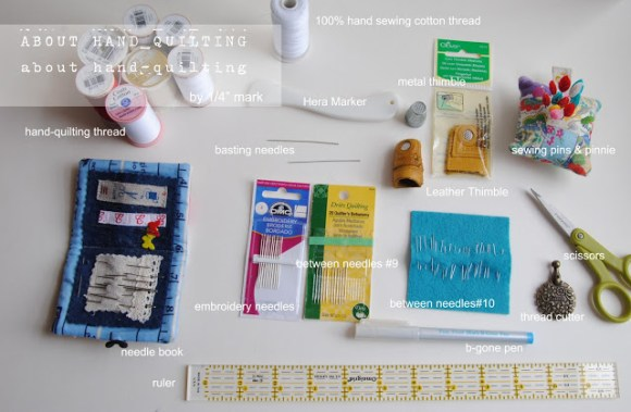 About Hand quilting
