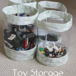 Toy Storage Bucket Tutorial