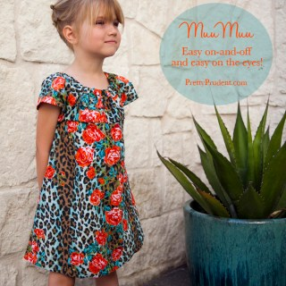 Easy Girls MuuMuu Dress Tutorial