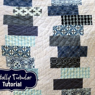 Totally Tubular Quilt Tutorial