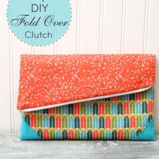 Simple Foldover Clutch Tutorial