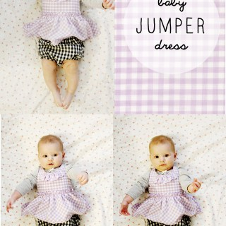 Baby Jumper Dress Tutorial
