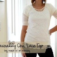 A Casually Chic Lace Top by Made it on Monday[4]