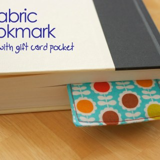 Fabric Bookmark Tutorial
