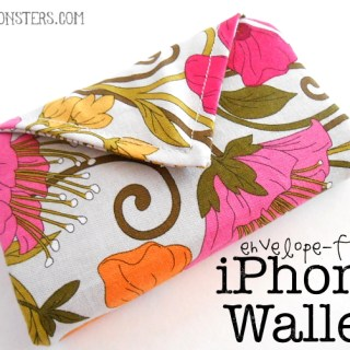 envelope flap iPhone wallet titled