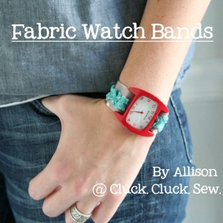 Fabric Watch Band Tutorial