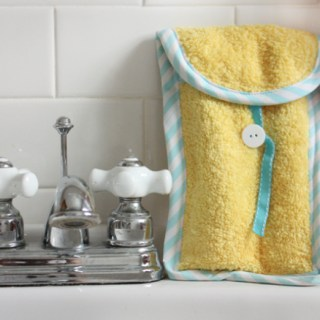 Travel Toothbrush Caddy Tutorial