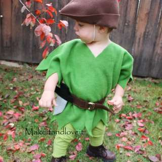 Peter Pan Costume Tutorial