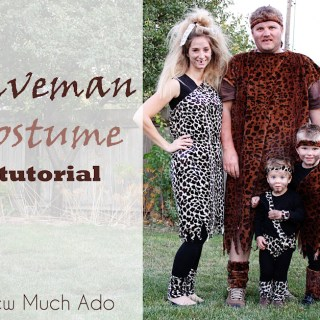 Caveman Costume Tutorial