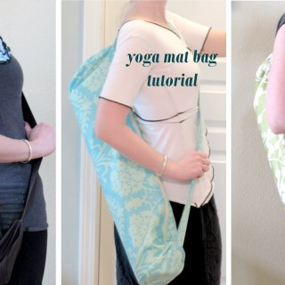 Yoga Mat Bag Tutorial