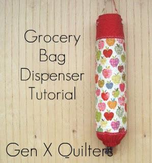 Grocery Bag Dispenser Tutorial