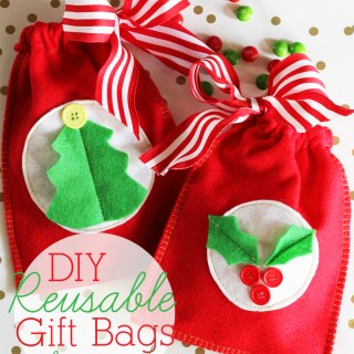 Easy Gift Bags Tutorial