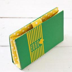 DIY book purse tutorial