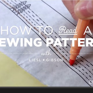VIDEO: How to Read a Sewing Pattern