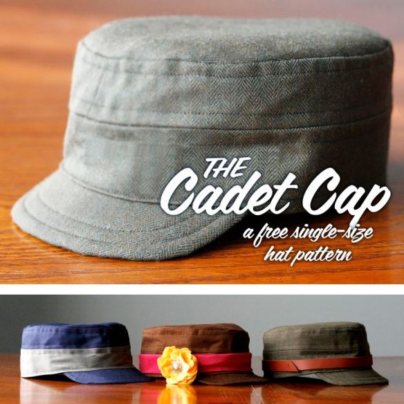 The Cadet Cap by Britex Fabrics - Sewtorial