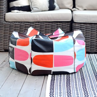 bean bag pouf by Nalle's House - Sewtorial