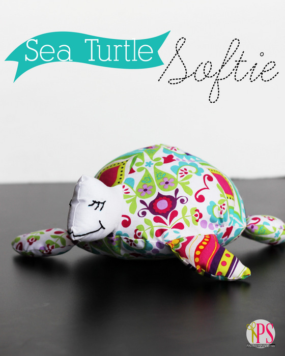 Sea Turtle Softie (free download) - Sewtorial