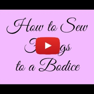 How to Sew Facings to a Bodice