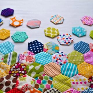 A Hexagon Quilt