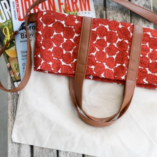DIY Fold Over Tote