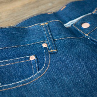 How to Insert Jeans Rivets