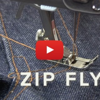 Jean Zipper Fly Tutorial