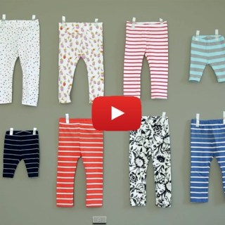 Leggings are so super comfy and fun. Dana from Made shows how easy it is to sew up a pair of leggings for your busy little one. -Sewtorial