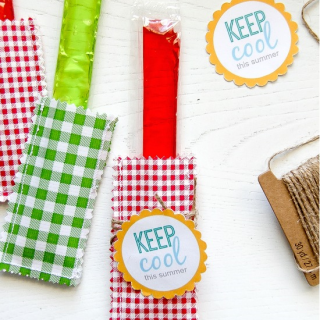 These fun popsicle holders by Tony Astaab are a beginner friendly project that only requires 2 supplies and a sewing machine (Yes!) -Sewtorial