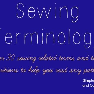 "Learn the meaning of over 30 sewing terms in this Simple Simon article that answers the question, ""What does this sewing word mean?"". -Sewtorial"