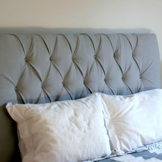 In this tufting tutorial, Create Joy shows how to create this beautiful padded headboard that will add elegance to your room's decor. - Sewtorial