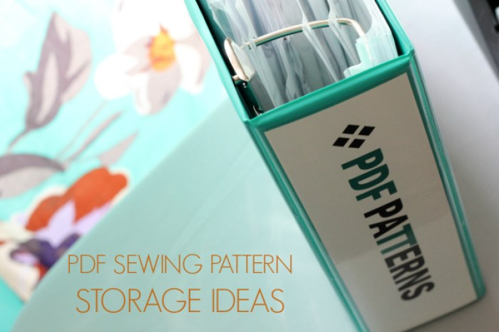 Learn how to store PDF patterns in this informative article by Andrea Brown of Four Square Walls (for Craftsy). - Sewtorial