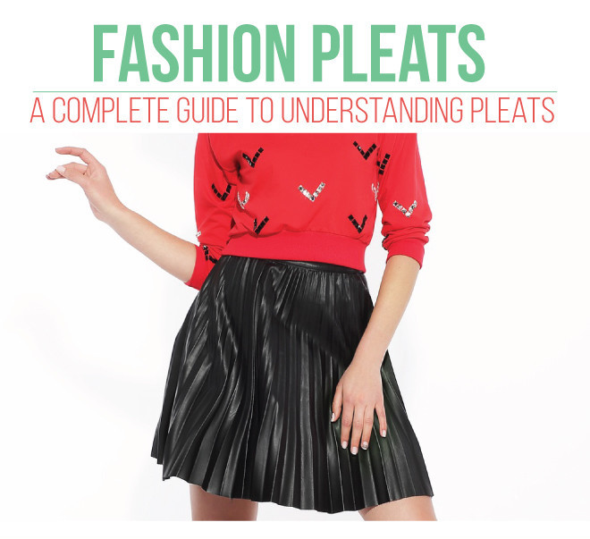 Pleats add depth and interest to a any project. Isn't That Sew shares a details pleats guide that's a great resource to keep on hand. -Sewtorial