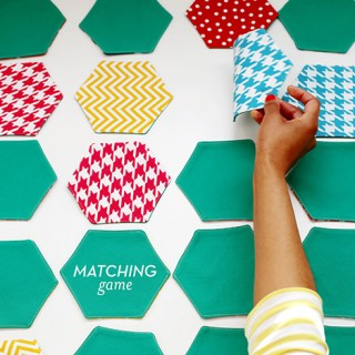 This fun matching game tutorial by Ann Kelle, is a fun way to stretch little minds (and whittle down that fabric stash). -Sewtorial