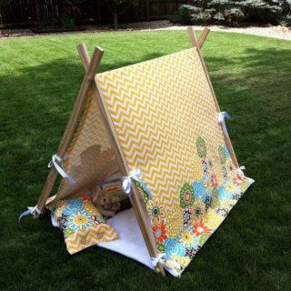 Child Tent Tutorial