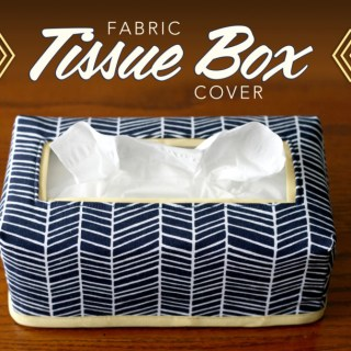 In this tutorial by Craft Buds, you'll learn how to make a fabric tissue box cover. Create one in your favorite fabric to match your home's decor.-Sewtorial