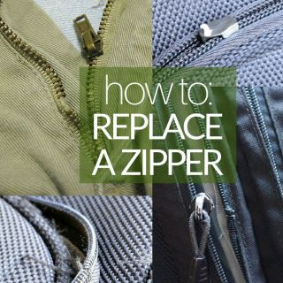 How to Replace a Zipper