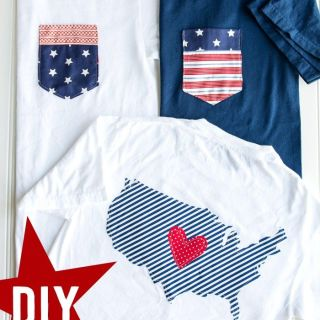 DIY 4th of July Shirts