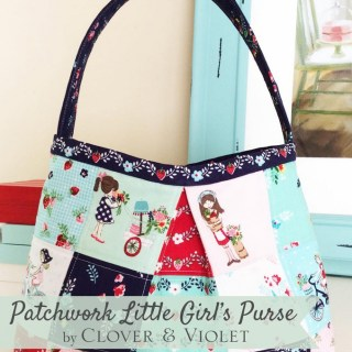 Little Girls Patchwork Purse Tutorial