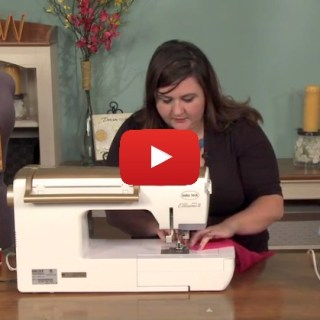 In this video tutorial National Sewing Circle shows how to hem sheer fabrics and create a beautiful finish. -Sewtorial
